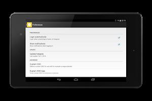 Screenshot of Homespot Connect