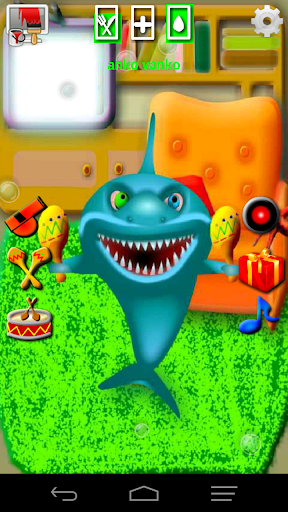 寶寶說話鯊魚的虛擬寵物