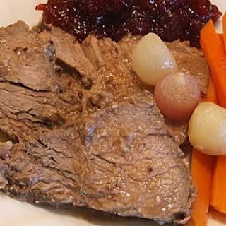 Cranberry Roast Beef.