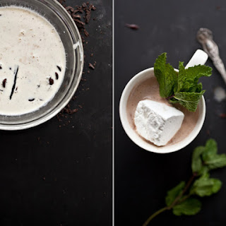 Fresh Mint Hot Chocolate.