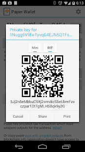 Bitcoin Paper Wallet- screenshot thumbnail