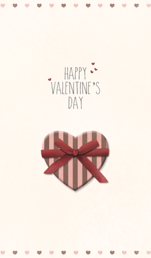 happy valentines day 카카오톡 테마