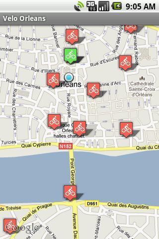 Vélo+ Orléans- screenshot