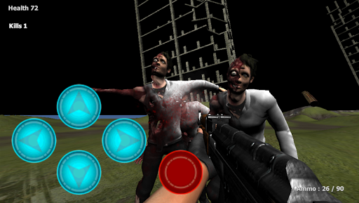 Zombie City Rampage FPS