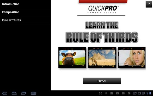 Rule of Thirds by QuickPro- screenshot thumbnail