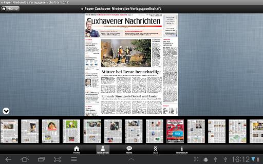 【免費新聞App】ePaper der CN und der NEZ-APP點子
