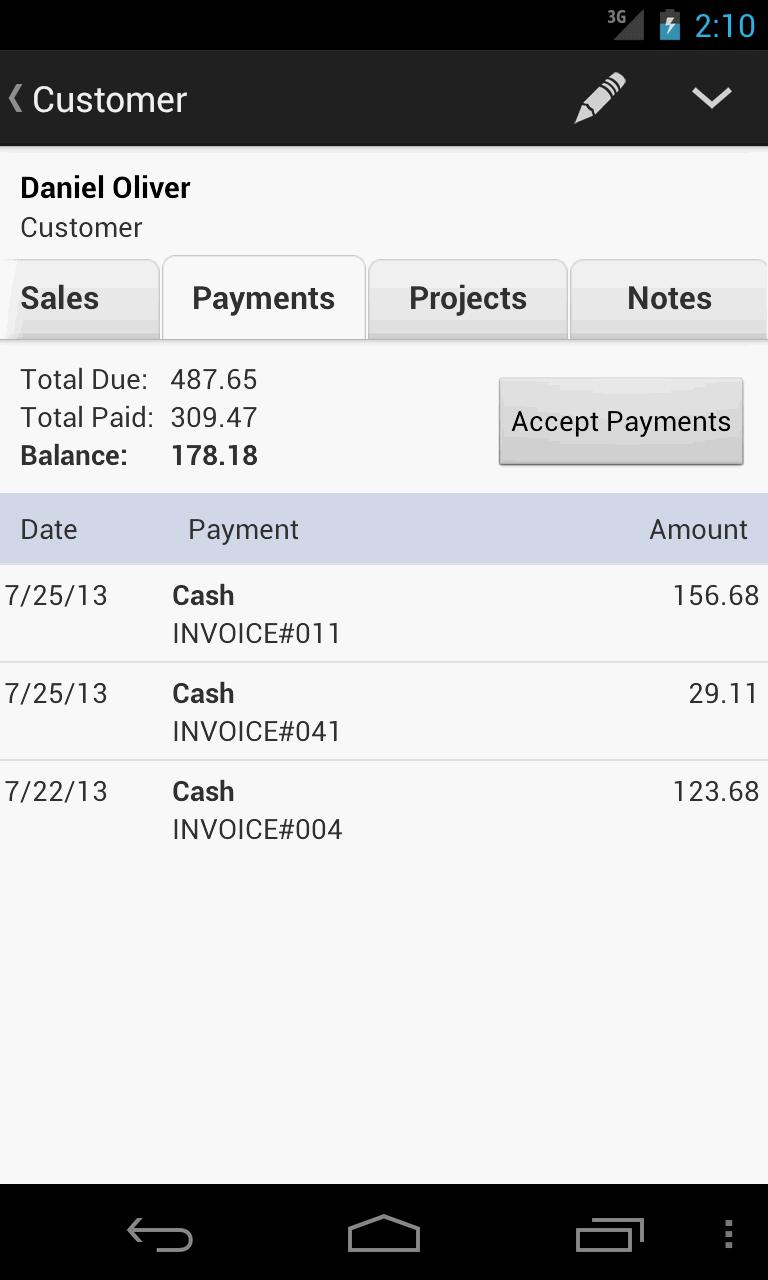 MobileBiz Pro - Invoice App Screenshot 2
