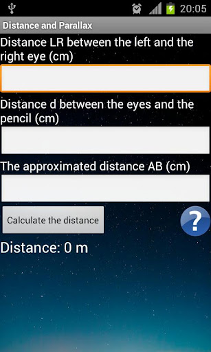 Distance and Parallax