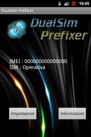 【免費通訊App】Dual Sim Prefixer-APP點子