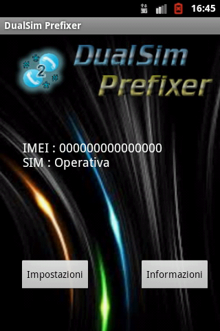 Dual Sim Prefixer