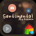 SENTIMENTAL AUTUMN DODOL THEME icon