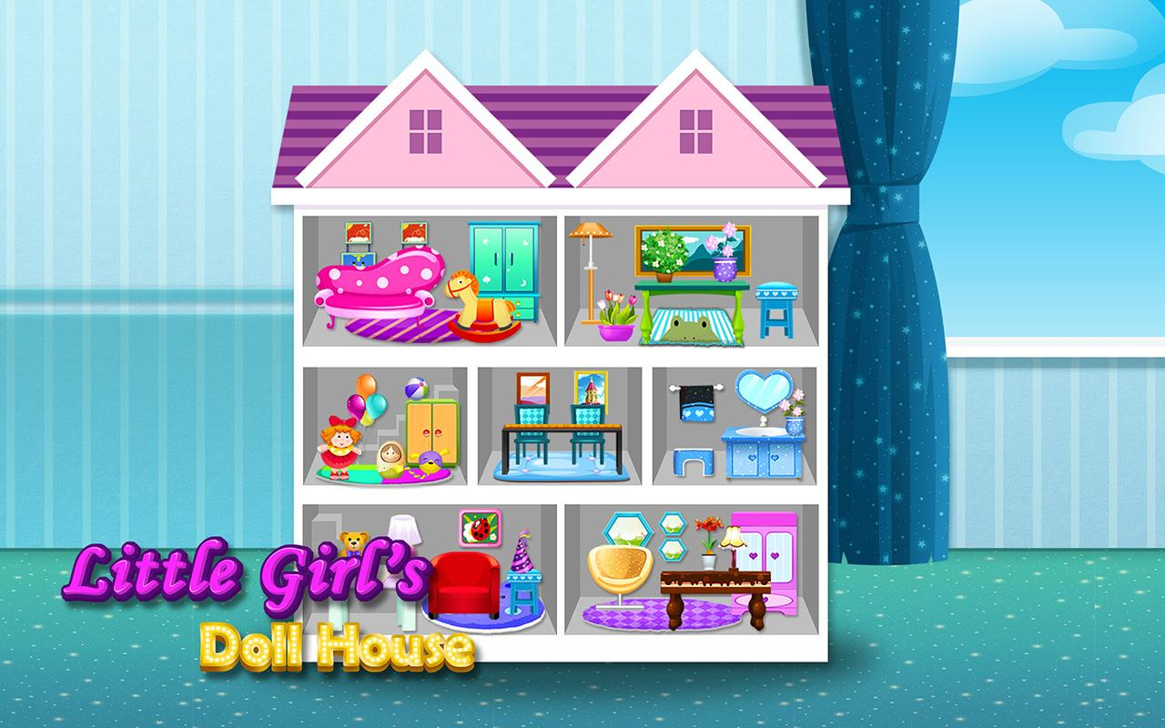 Baby Doll House Girls Game Screenshot