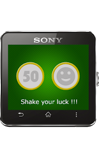Lucky Shaker for SmartWatch 2- screenshot thumbnail
