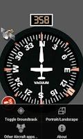 Screenshot of Aircraft Compass Free