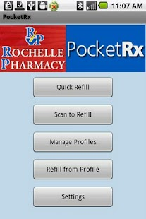 Rochelle Pharmacy PocketRx - screenshot thumbnail