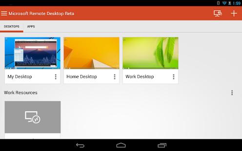 Microsoft Remote Desktop Beta Screenshot 11