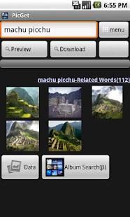 PicGet(Wallpaper Search) - screenshot thumbnail