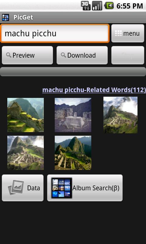 PicGet(Wallpaper Search) - screenshot