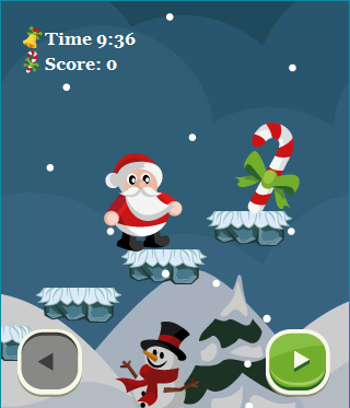 Santa Rush! Game Screenshot