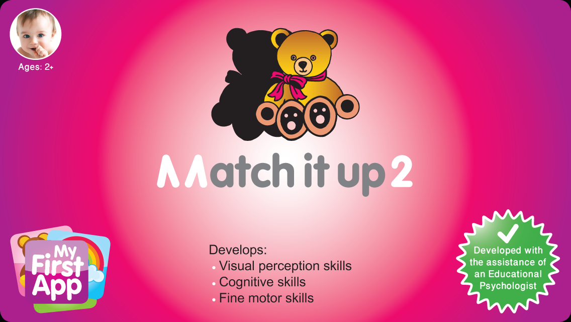 Match It Up 2 for toddlers- screenshot
