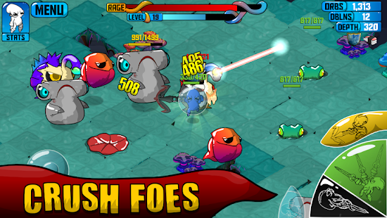 Quadropus Rampage Screenshot 2
