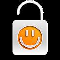 Orange Content Lock icon