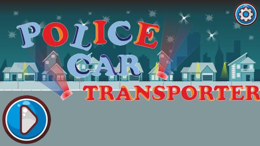 Police Car Transporter