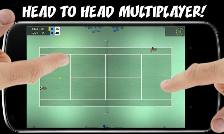 Flick Tennis screenshot #5