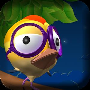 لعبة مغامرات hopping bird بصيغة [Apk.] من رفعي على [Mediafire,4shared,Go4up]