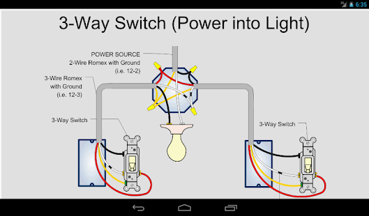 Example Of Wiring Diagram For House : Electric toolkit home wiring android apps on google play