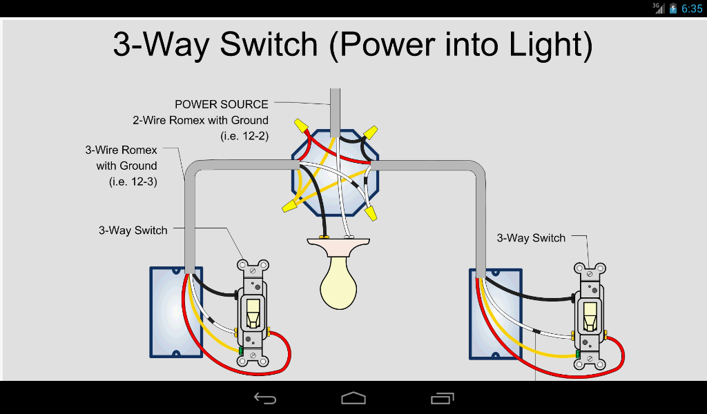 electric toolkit  home wiring  android apps on google play, Wiring diagram