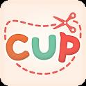 ezPDF Cup - Scan & Clip Trial icon