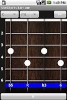 Screenshot of Uke Chords Baritone