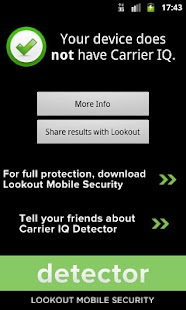 CarrierIQ Scanner & Protection - screenshot thumbnail