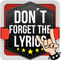 Don't Forget the Lyrics Rock icon