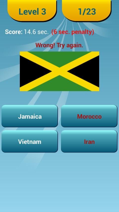 World Flags Quiz - screenshot