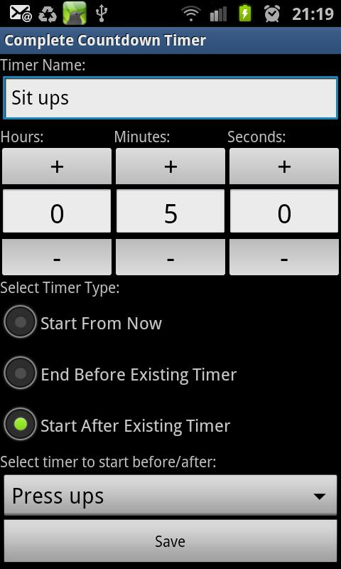 Complete Countdown Timer- screenshot