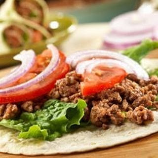 Simple Savory Beef Wraps