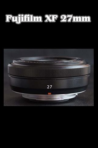 XF 27mm F2.8 Tutorial
