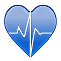 Healthy heart - blood pressure icon