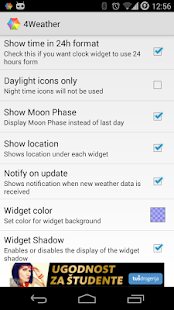 Weather Widget Forecast App - screenshot thumbnail