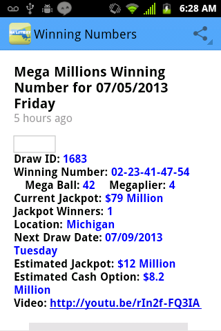 mass lottery daily numbers game results