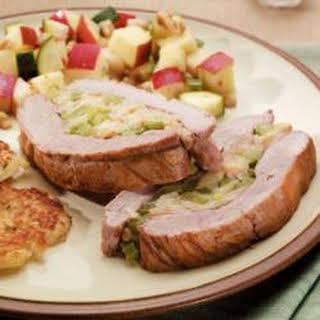 Pork Tenderloin with Stuffing.
