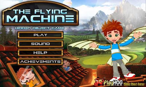 Flying Machine - Hidden Object