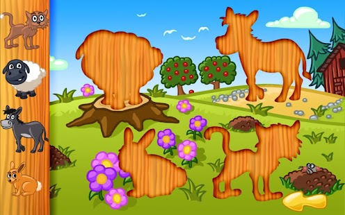 Amazing Animal Puzzle For Kids- screenshot thumbnail