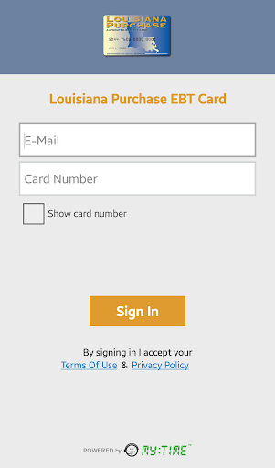 Louisiana Purchase EBT Card