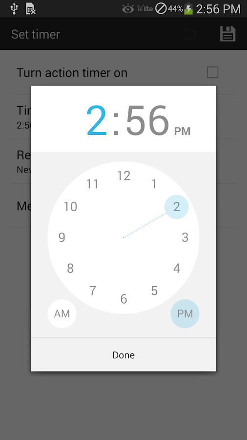 Music Sleep Timer - screenshot