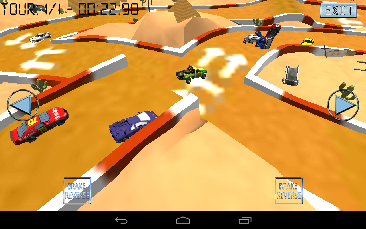 Turbo Skiddy Racing Pro - screenshot