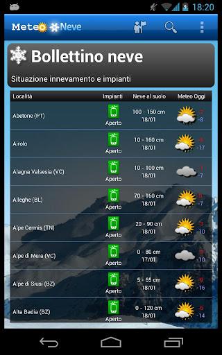 WeatherSnow