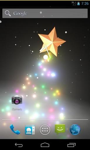 圣诞类树动态壁纸